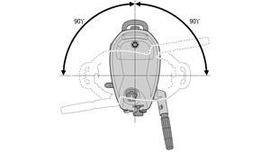 F4-F5-F6 180º-styrning med friktions- och gasreglering