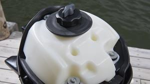 F2.5 inbyggd genomskinlig bränsletank