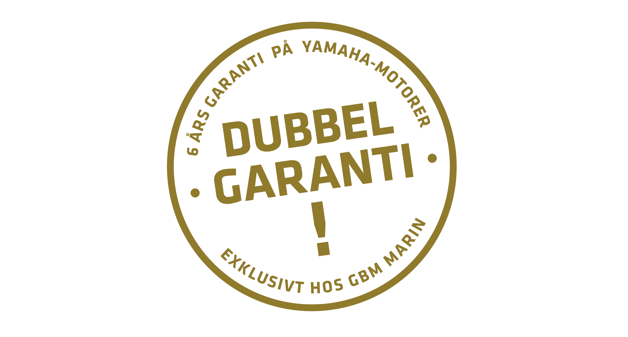 Dubbelgaranti logo GBM