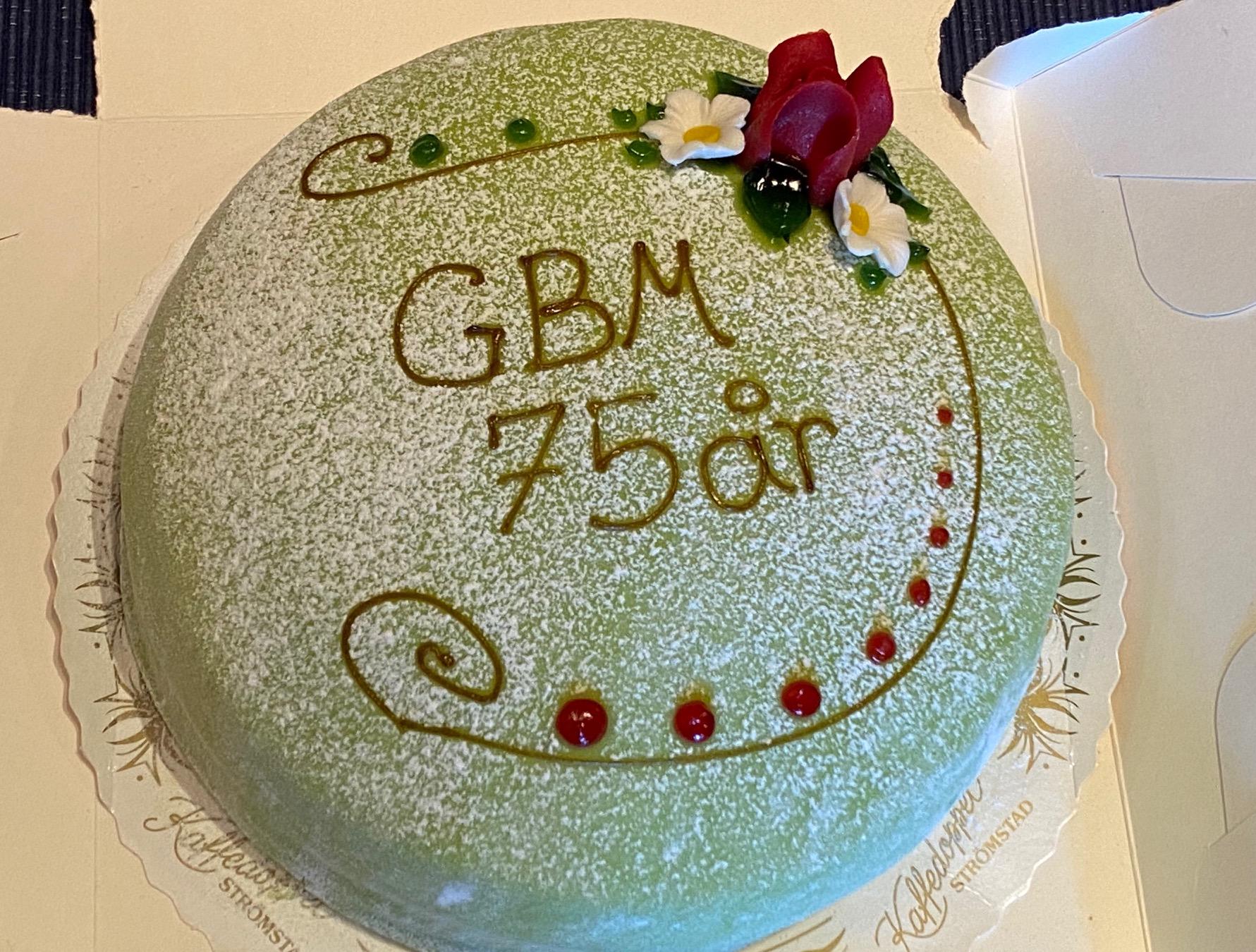 75 år tårta